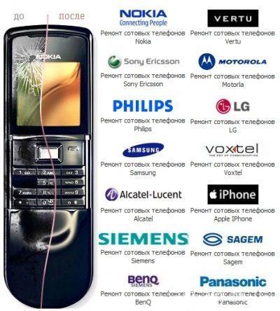 Ремонт мобильных телефонов в Чите